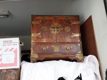 [8成新] 連欣二手傢俱-復古風收納櫃櫥/櫃有輕微破損