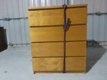 [95成新] 連欣二手傢俱-柚木色四斗櫃收納櫃近乎全新