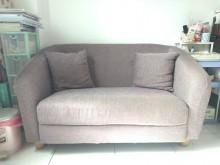 [9成新] 九成新雙人小沙發 單身套房好夥伴雙人沙發無破損有使用痕跡