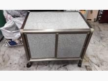 [95成新] 九五成新鋁製低餐櫃.4千免運碗盤櫥櫃近乎全新