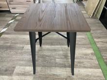 吉田二手傢俱❤全新2尺工業風餐桌餐桌全新