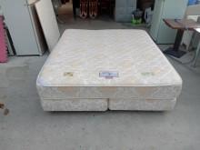 [95成新] 近全新6X7尺獨立筒上下墊整組雙人床架近乎全新