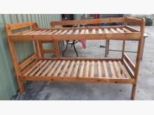 [9成新] 原木實木單人上下床架組單人床架無破損有使用痕跡