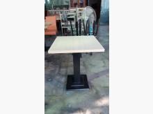 [全新] 工廠庫存木心板鐵腳小餐桌餐桌全新