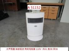 [9成新] A51152 太尹西屋陶瓷電暖爐電暖器無破損有使用痕跡