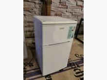 [9成新] 美國貴族雙門小冰箱冰箱無破損有使用痕跡