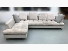 [8成新] 灰色大L型布沙發L型沙發有輕微破損