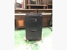 [9成新] 黑色優美兩抽理想櫃*辦公家具*辦公櫥櫃無破損有使用痕跡