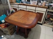[9成新] 可延伸式長度的高級餐桌餐桌椅組無破損有使用痕跡
