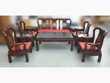 [8成新] ZM111017雞翅木10件組椅木製沙發有輕微破損