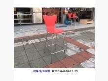 [7成新及以下] 靠背高腳椅 吧檯椅餐椅有明顯破損