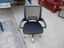 [8成新] 黑網鐵角升降辦公椅H03295電腦桌/椅有輕微破損