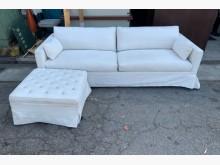 [9成新] L型布沙發/沙發椅/三人沙發L型沙發無破損有使用痕跡