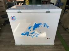 [全新] 吉田二手傢俱❤全新臥式上掀冷凍櫃冰箱全新