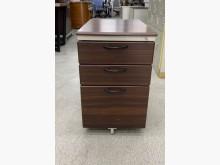 [95成新] 胡桃木紋活動櫃/抽屜櫃/辦公櫃辦公櫥櫃近乎全新