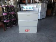 [8成新] K17102 工具櫃 公文櫃辦公櫥櫃有輕微破損