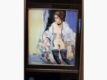 [95成新] 台灣當代大畫家-林憲茂油畫收藏擺飾近乎全新