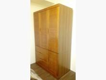 [95成新] 實木4尺三門衣櫥賣屋求現衣櫃/衣櫥近乎全新