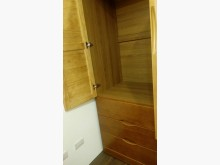 [95成新] 實木3尺雙門衣櫥衣櫃/衣櫥近乎全新