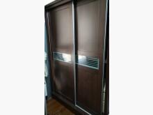 [95成新] 5尺深咖啡色推門衣櫃賣屋隨便賣衣櫃/衣櫥近乎全新