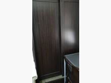[95成新] 深咖啡雙門推門衣櫥衣櫃/衣櫥近乎全新