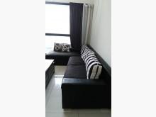 [95成新] 黑色大器實用L型大沙發檢便宜要快L型沙發近乎全新