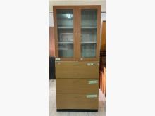 [8成新] 三合二手物流(3尺文件鐵櫃)辦公櫥櫃有輕微破損