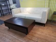 [9成新] 極新KUKA HOME 三人座雙人沙發無破損有使用痕跡