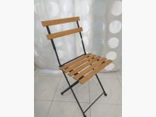[9成新] 戶外休閒 原木摺疊椅其它桌椅無破損有使用痕跡