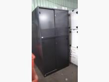 [9成新] 鐵灰上下文件鐵櫃(高)(無鑰匙)辦公櫥櫃無破損有使用痕跡