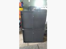 [9成新] 鐵灰上下文件鐵櫃(矮)(無鑰匙)辦公櫥櫃無破損有使用痕跡