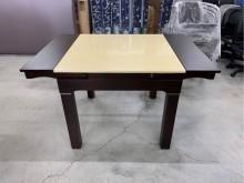 大理石餐桌/伸縮餐桌/蝴蝶桌餐桌近乎全新
