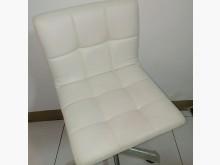 [8成新] 白色皮革升降洽談椅美甲椅辦公椅辦公椅有輕微破損