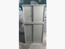 [9成新] 白色上下文件鐵櫃(高)辦公櫥櫃無破損有使用痕跡