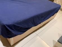 [9成新] 二手標準雙人床組雙人床架無破損有使用痕跡
