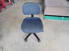 [9成新] 藍色布面OA椅H03458電腦桌/椅無破損有使用痕跡