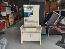 白橡木多功能化妝桌H03466鏡台/化妝桌無破損有使用痕跡