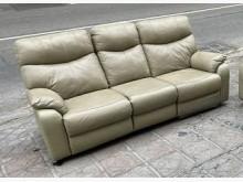 [9成新] 三合二手物流(牛皮沙發組)多件沙發組無破損有使用痕跡