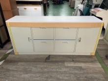 [全新] 吉田二手傢俱❤全新6尺四抽隔間櫃辦公櫥櫃全新