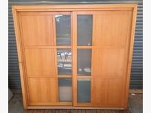 [8成新] 木色七尺衣櫃衣櫃/衣櫥有輕微破損