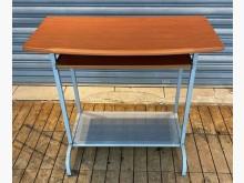 [8成新] 木紋簡易電腦桌書桌/椅有輕微破損