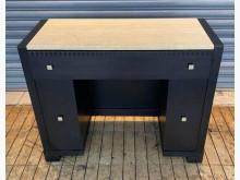 [8成新] 黑色石面書桌書桌/椅有輕微破損