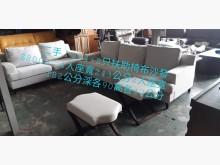 [9成新] 尋寶屋~2+4+2只小坐凳布沙發多件沙發組無破損有使用痕跡