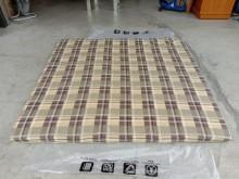 [9成新] 可摺6尺薄床墊H03505雙人床墊無破損有使用痕跡