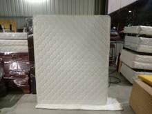 [9成新] 白色雙人獨立筒床墊H03509雙人床墊無破損有使用痕跡