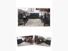 [8成新] 百年九龍椅 黑檀木 7件套 古董木製沙發有輕微破損