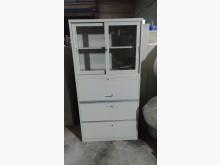 [9成新] 白色OA組合理想櫃辦公櫥櫃無破損有使用痕跡