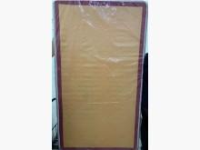 [8成新] 二手單人床墊3.5尺塑膠膜還未拆單人床墊有輕微破損