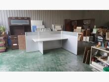 合運二手傢俱L型屏風+桌板703辦公桌無破損有使用痕跡