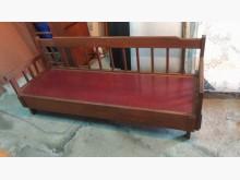 [9成新] 復古三人座木椅木製沙發無破損有使用痕跡